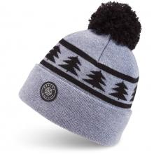Шапка  DAKINE Jack Pine Merino Pom Beanie heather grey