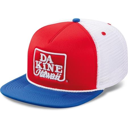 Кепка мужская DAKINE Retro Logo Trucker red/blue