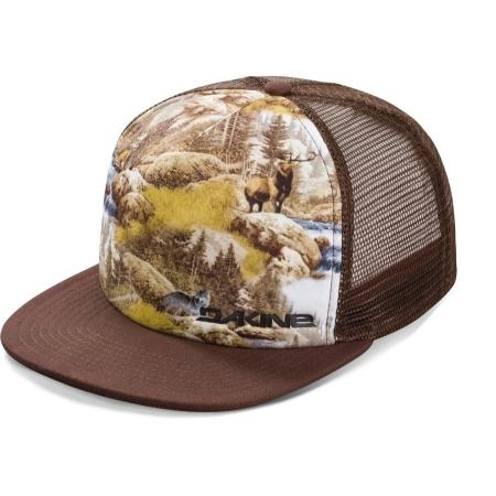 Кепка мужская DAKINE Paradise Trucker brown